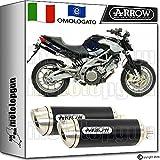 Arrow Auspuff Hom Thunder Aluminium Dark Aprilia Shiver 75020080820090971748Aon