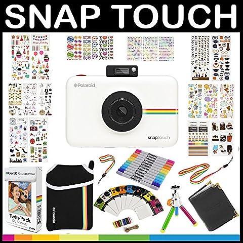 Polaroid: Pack Cadeau avec appareil photo instantané Snap Touch + Papier ZINK (20 feuilles) + (Digitale Abbellimenti)