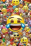 empireposter 738264Emoji-Collage Global-Fun-Máxima de Póster, impresión, Comic Caras, Papel, 91,5x 61x 0,14cm