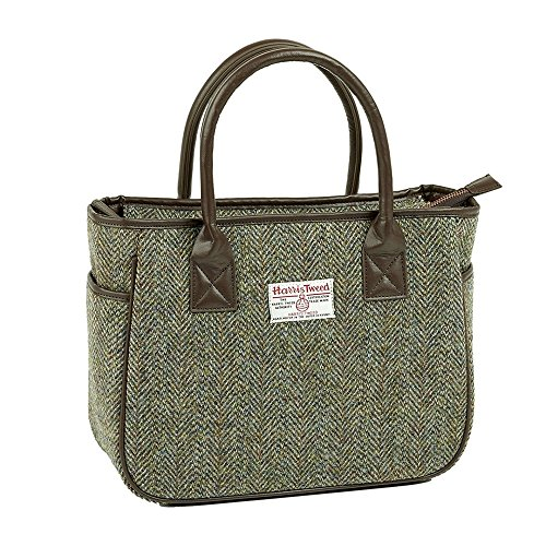 Heather Hats, Borsa tote donna Green