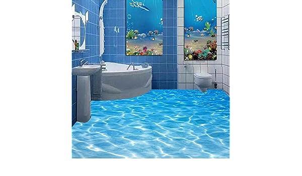 3d Fußboden Fürs Badezimmer ~ Lwcx custom fototapete beach meerwasser wohnzimmer d fußböden