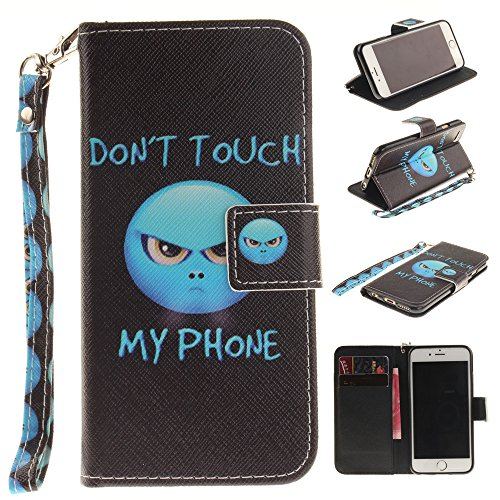 Nutbro Iphone SE Case, iphone 5s case [Wrist Strap] Flip Folio [Kickstand Feature] PU leather wallet case with ID & Credit Card Pockets For Apple iphone SE/5s/5 TX-iPhone-5S-71
