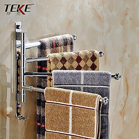 Asciugamano da bagno Bar Bagno in acciaio inox Mensola a