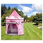 KiddyPlay Deluxe Pink Pop-Up Castle P...