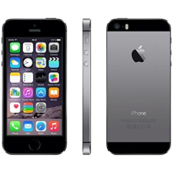 """Apple iPhone 5s, 4"""" Display, SIM-Free, 32 GB, 2013, Space Grau (Generalüberholt)"""