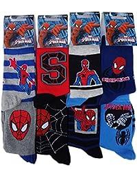 Chaussettes enfant Spiderman. Modèle photo selon arrivage.