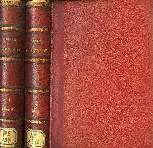 Revue bibliographique et litteraire de l'oeuvre des agregations pour la propagation des bons ouvrages, 2 tomes, 1865-1866