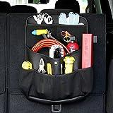 YONGYAO Auto Seat Back Storage Bag Suv Tronco Strumenti Vari Pu Cuoio Multifunzione Veicolo Borsa-A