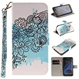 Chreey Coque Samsung Galaxy S7 Edge / SM-G9350 (5.5 pouces),PU Cuir Portefeuille Etui Housse Case Cover ,carte de crédit Fentes pour ,idéal pour protéger votre téléphone
