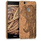 kwmobile Huawei Nova Hülle - Handyhülle für Huawei Nova - Handy Case Kork Cover Schutzhülle