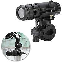 Diyeeni Caméra de Sport HD, caméra vidéo étanche d'action 8MP pour Scooter de vélo de Moto, caméra caméscope pour Casque…