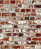 Muriva Tapete Papiertapete, 3er-Pack, mehrfarbig, 102538-3