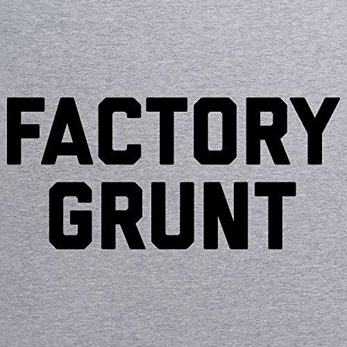 Factory Grunt T-Shirt, Damen Grau Meliert