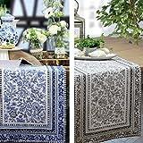 Sander Tischläufer blau Größe 44x158 cm