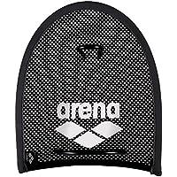 Arena Flex Palas de Mano para Natación, Unisex Adulto, Negro (Black/Silver), Talla Única