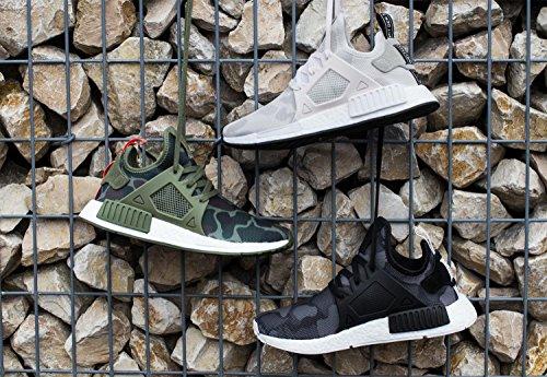 Adidas U NMD XR1 Camo Olive White Green