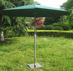 Schirm Sonnenschirm Marktschirm Garten grün