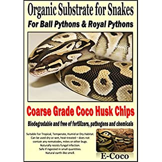 Python Snake Bedding for Larger Snakes - Substrate for Ball Pythons & Royal Pythons - COARSE Grade - Ready to USE (1… 14