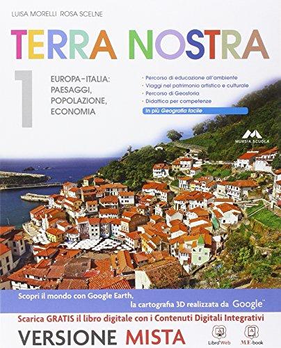Terra Nostra - Volume 1 + Atlante 1 con Laboratorio delle competenze