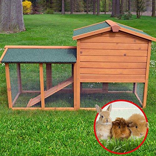 Stall Nr 1 Kaninchenstall Hasenstall Kaninchenkäfig Hasenkäfig Meerschweinchenstall - 7