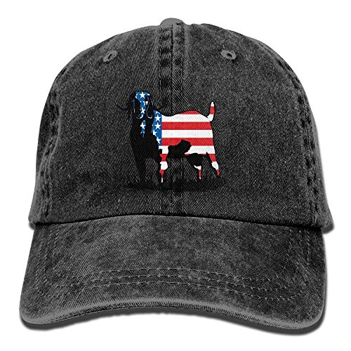 U-Only Colorrado Boer Goat Flag Vintage Jeans Baseball Cap Outdoor Sports Hat for Men and Women