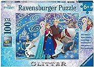 Disney Frozen: Glitzernder Schnee. Glitter Puzzle 100 Teile XLL