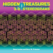 { HIDDEN TREASURES: 3-D STEREOGRAMS } By Levine, Gene ( Author ) [ May - 2008 ] [ Paperback ]