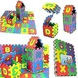 Momola 36Pcs bébé enfant numéro alphabet puzzle mousse maths éducatif cadeau...