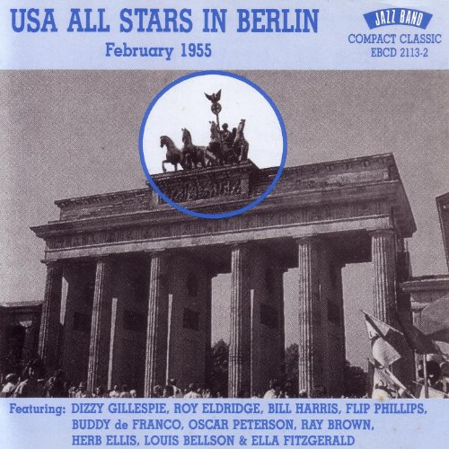 USA All Stars In Berlin - February 1955
