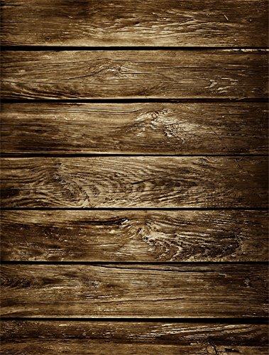 YongFoto 1x1,5m Vinyl Foto Hintergrund Holz Brett Grunge Holz Distressed Shabby Chic HolzHolz Bretter Fotografie Hintergrund für Photo Booth Baby Party Banner Kinder Fotostudio Requisiten