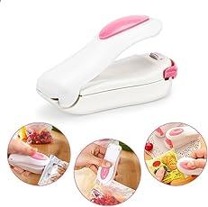 Pramukh Enterprice Portable Hand Pressure Mini Sealing Machine Heat Sealer Capper Food Saver Storage For Plastic Bags Package