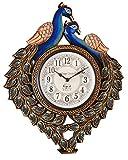 Vintage Clock Peacock Pine Wood Clock (3...