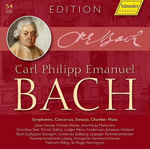 C.P.E. Bach: Konzerte / Sinfonien / Sonaten / Kammermusik [54 CDs]