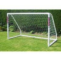 Samba 2.5x1.5m Match Football Goal W/Locking System & Net Freestanding
