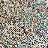 FALQUON Q001 Mosaic Ornament Laminat Matt 8mm (1,996m²)