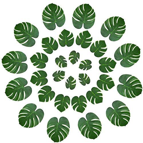 Hawaiian Luau Schuhe - WOVELOT 48 pcs Tropische Decoration des