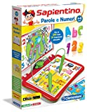 Sapientino Clementoni – 13525 Parlante interactive game [Italian Version] Words and numbers