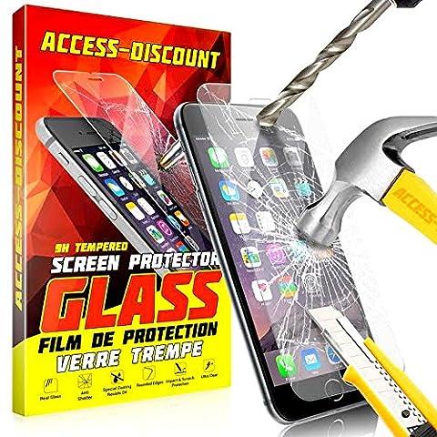 Iphone 4 S Blanc 16 Go - A&D® FILM PROTECTION Ecran en VERRE Trempé