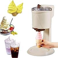 LWJDM Machine À Sorbetière 1L Service Doux, Machine À Crème Glacée Aux Fruits De Ménage Automatique Bricolage Force D…