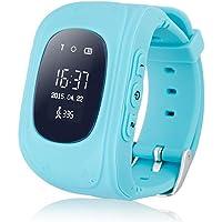 Abeillo Enfants GPS Tracker Smartwatch Montre Smart for Kids Anti-Perdu Sos Sim Card Montre Contr?Le Parent par…