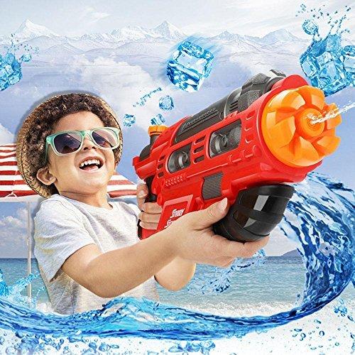 Pawaca Super Wasserpistole, 2000CC Wasserpistolen Wasserspritzpistole mit Reichweite für Kinder & Erwachsene