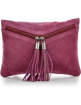 CNTMP, Leder Damen Handtaschen, Clutches, Clutch, Unterarmtaschen, Abendtaschen, Party-Bags, Trend-Bags, Velours...