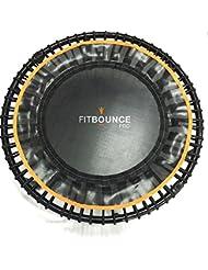 Fit Bounce Pro Mini trampoline de grande qualité pliant avec sac de transport et rebondimètre pour mesurer les rebonds