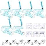Piercing Pistole INTVN 6 Packs Ohr-Piercing Ohrpiercing Werkzeug mit Ohrstecker für Asepsis Piercing Kit Ohr-Piercing Gun mit