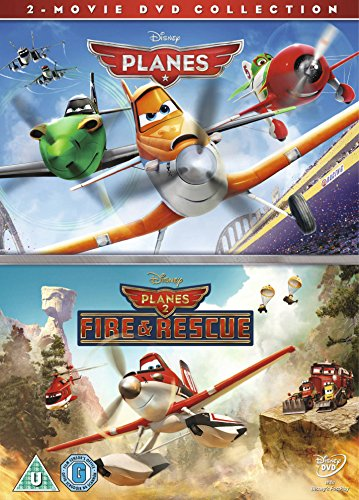 Planes / Planes: Fire & Rescue (2 Dvd) [Edizione: Regno Unito]