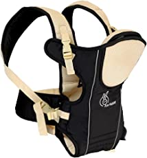 R for Rabbit Chubby Cheeks- The Cozy Baby Carrier (Black Cream)