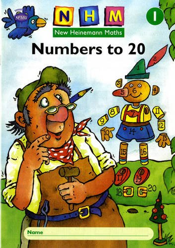 New Heinemann Maths Yr1, Number to 20 Activity Book (8 Pack): Year 1