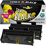 Yellow Yeti 407166 (1200 Pages) 2 Cartouches Toner compatibles pour Ricoh SP100 SP112 SP100e SP100SF SP100SFe SP100SU SP100SUe SP110 SP112e SP112SF SP112SFe SP112SU SP112SUe [Garantie de 3 Ans]
