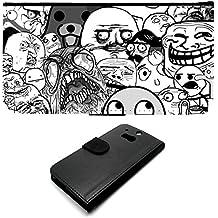 HTC One M8Troll Face Group Memes 4Chan Meme internet in Phone case