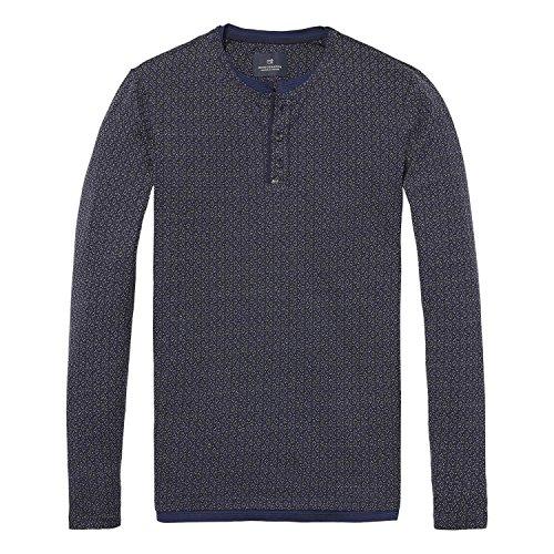 Scotch & Soda Herren Fake Double Layered T-Shirt Combo C